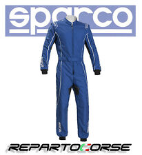 Sparco 002334azbi2m Tuta Kart Groove Ks-3 Azzurro/bianco Taglia M