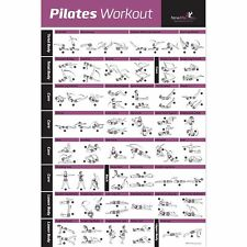 NewMe Fitness PILATES MAT EXERCISE SERIES POSTER – Easy to Follow Mat Sequenc...