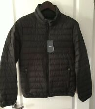 Armani Jeans Quilted Down Jacket Dark Grey Size 50