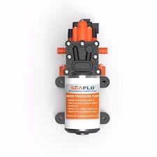 SEAFLO 12V Marine Boats 1.4GPM 80PSI Water Pressure Diaphragm Pump Self Priming