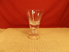 "Val St. Lambert Crystal State Plain Pattern Water Goblet 6 3/8"""