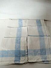Vintage Linen Damask Napkins