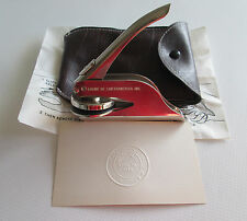 1986 CA Incorporated Portable Hand Press Pocket Seal Embossing Stamp and Pouch