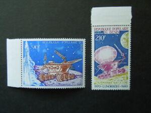 G629  STAMPS  BENIN 1980   SPACE  SET  MNH