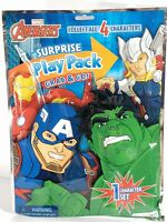 New Sealed Bendon Full Size Book Grab & Go Surprise Play Pack Marvel Avengers o