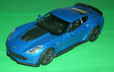 1/39 Scale 2017 Chevrolet Corvette Z06 Coupe Diecast Model - Welly 43762 Red