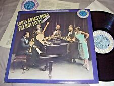 LOUIS ARMSTRONG The Hot Fives Volume I/1/one VINYL LP promo record album NM/EX