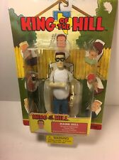 Rare Hank Hill King of the Hill action figure ToyCom 2002 sealed TV Cartoon