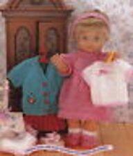 Dolls (& Prem Baby) Wardrobe Knit Pattern-13 Outfits