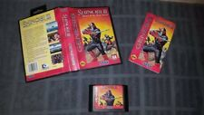 Shinobi III: Return of the Ninja Master for Sega Genesis with Manual AND Case!