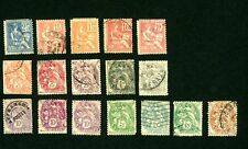 FRANCE 1900-1937 USED LOT OF 71 STAMPS FROM SCOTT #109 to 196