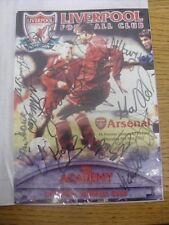 09/05/2002 Autographed Programme: FA Premier League U19 Final: Liverpool Youth U
