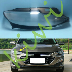 For Chevrolet Malibu 2019-2020 Right Side Headlight Clear Cover + Glue