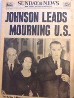 Sunday News Magazine Lyndon B. Johnson November 24, 1963 102317nonrh2
