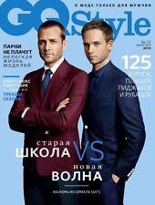 GQ Style Russia,Gabriel Macht,Patrick Adams,Kanye West,Ralph Lauren,Brad Pitt