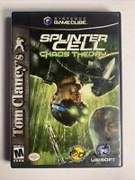 Tom Clancy's Splinter Cell: Chaos Theory (Nintendo GameCube, 2005) no manual