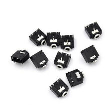 10Pcs 5 Pin 3.5mm Female Stereo Audio Socket Jack Connector PCB Panel Mount