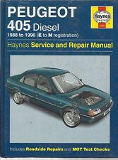 buy peugeot 405 car manuals literature ebay rh ebay co uk Peugeot 605 Peugeot 607