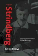 August Strindberg: Selected Essays, , Strindberg, August, Very Good, 1996-10-28,
