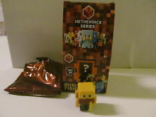 Minecraft Mini Figures - Mattel - Netherrack - Series 3 - Blaze - Light Wear