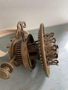 antique HInks no:1 duplex oil lamp burner