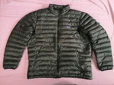 Patagonia Men's Black Down Puffer Sweater Jacket Coat Size XXL - Good Used