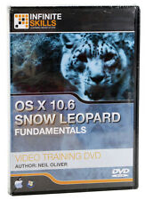 Infinite Skills OS X 10.6 Snow Leopard Training DVD Video for Beginners