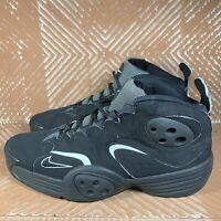 Nike Flight One Penny 1 Black/Black White Size 13 538133-010 Basketball Shoes