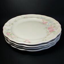 Pfaltzgraff TEA ROSE Dinner Plates Set of 4 Made in USA Plate