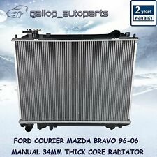 Mazda Radiator Ford Courier Bravo 96-06 Manual 34mm thick Core Heavy Duty