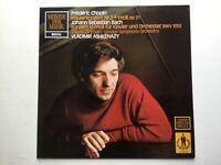 LP Vladimir Ashkenazy Chopin Klavierkonzert Nr. 2 Bach BWV 1052 David Zinnan