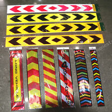 2PCS A LOT Reflective Safety Warning Conspicuity Tape Film Sticker Multicolor