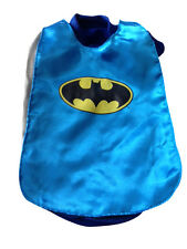 DC Comics Blue Batman dog costume jacket shirt FOR SMALL TO XXXLARGE DOGS - New