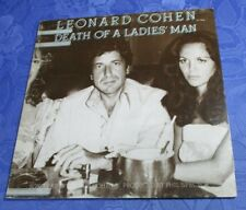 LEONARD COHEN (LP) DEATH OF A LADIES MAN ♫♫[CBS GATEFOLD 1977 **HOLLAND PRESS]EX