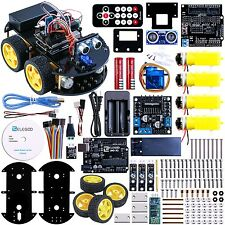 Elegoo Arduino Project Smart Robot Car Kit with Four-wheel Drives UNO R3 Link...
