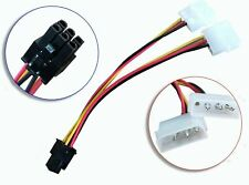 IDE Molex to 6Pin PCI Express PCI-E Video Card Power Adapter Cable