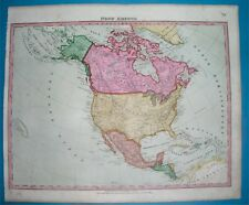 1856 TEXAS CALIFORNIA NICE ANTIQUE MAP UNITED STATES NEW YORK WASHINGTON GEORGIA