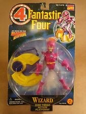 WIZARD ACTION FIGURE FANTASTIC FOUR MARVEL COMICS TOY BIZ 1996