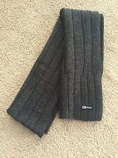"""Ralph Lauren Polo Jeans Co Wool Sweater Knit Men's Scarf 58"""" Long"""