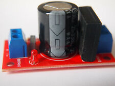 Power Supply Board with Smoothing and LED  18V AC max to DC 8A UK SELLER