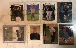 2001 Upper Deck 8 Golf Card Lot SP Inserts Garcia Duval Faxon RC PGA No Dupes EP