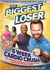 THE BIGGEST LOSER: 6 WEEK CARDIO CRUSH    DVD     BRAND NEW     FACTORY SEALED