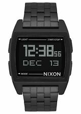 Nixon Base A1107-001 Black Stainless Steel Digital Quartz Unisex Watch