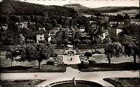 Bad Brückenau Bayern Unterfranken AK 1959 Kurpark Panorama Parkanlage Kur Park