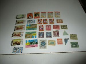 Postage Stamps: Guatemala, used, unsorted