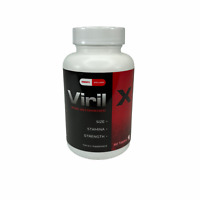 Viril X Dietary Supplement Natural Male Enhancement Size Stamina 60 Tablets New
