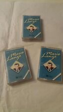 Mario Lanza - The Very Best Of (1993) Cassette Tape Vol 1 2 3 Mint Cond & Tested