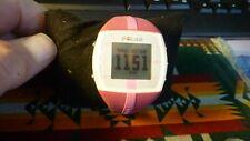 Polar Women's FT 4 Heart Rate Digital Monitor Watch Pink C419W31596877