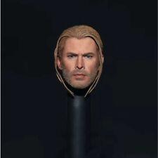 Elite 1/6 Thor Trenza cabeza esculpida Thor 3 los Vengadores De Hot Toys Phicen