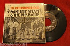 "SAM THE SHAM & THE PHARAOHS ‎– Li'l Red Riding Hood 1966 EP 7"" (EX+/EX) d"
